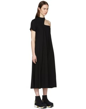 photo Black Cut-Out Shoulder Dress by Toga - Image 2