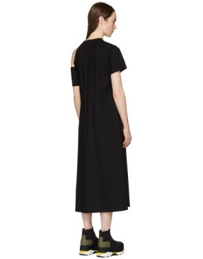 photo Black Cut-Out Shoulder Dress by Toga - Image 3