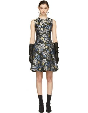 photo Multicolor Yesim Dress by Erdem - Image 1