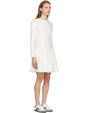 photo White Circle Skirt Dress by Edit - Image 2