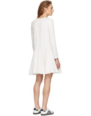 photo White Circle Skirt Dress by Edit - Image 3