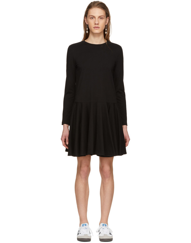 photo Black Circle Skirt Dress by Edit - Image 1
