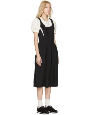 photo Black and White Layered Contrast Dress by Comme des Garcons - Image 2
