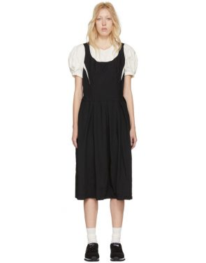 photo Black and White Layered Contrast Dress by Comme des Garcons - Image 1