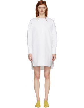 photo White Riva Shirt Dress by Harmony - Image 1