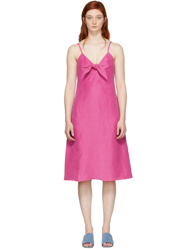 photo Pink Oriska Dress by Simon Miller - Image 1