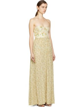 photo Beige Long Dallas Dress by Brock Collection - Image 2