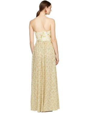 photo Beige Long Dallas Dress by Brock Collection - Image 3