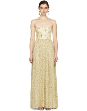 photo Beige Long Dallas Dress by Brock Collection - Image 1