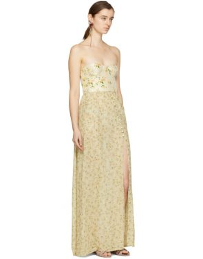 photo Beige Long Dallas Dress by Brock Collection - Image 4