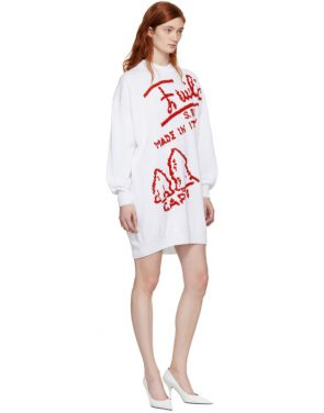 photo White Embroidered Firenze Dress by Emilio Pucci - Image 5