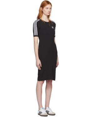 photo Black 3-Stripe Dress by adidas Originals - Image 2