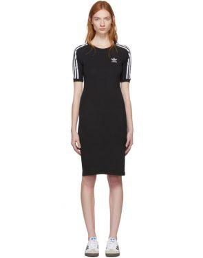 photo Black 3-Stripe Dress by adidas Originals - Image 1