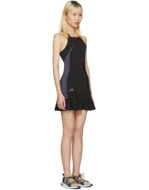 photo Black Barricade Tennis Dress by Adidas by Stella McCartney - Image 2