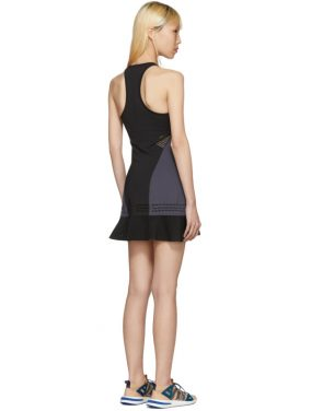 photo Black Barricade Tennis Dress by Adidas by Stella McCartney - Image 3