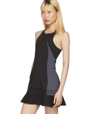 photo Black Barricade Tennis Dress by Adidas by Stella McCartney - Image 5