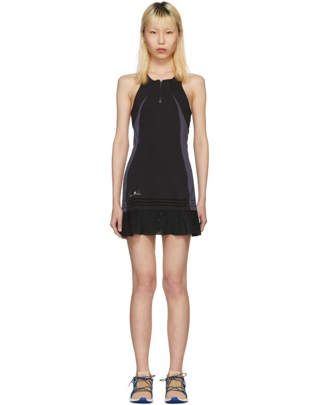 photo Black Barricade Tennis Dress by Adidas by Stella McCartney - Image 1