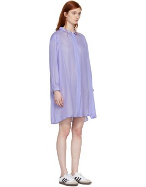 photo Blue Shirt Dress by Chimala - Image 2