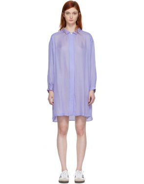 photo Blue Shirt Dress by Chimala - Image 1