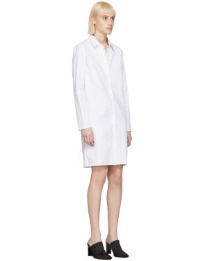 photo White Brigitte Shirt Dress by Alyx - Image 2