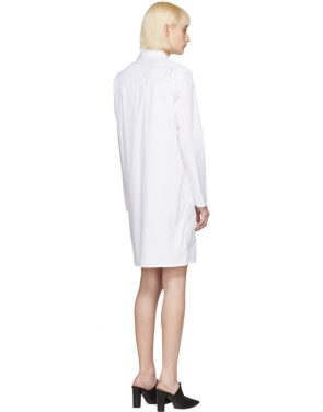 photo White Brigitte Shirt Dress by Alyx - Image 3