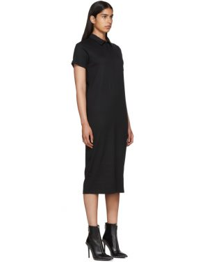 photo Black Polo Shirt Dress by Alyx - Image 2