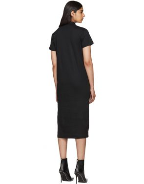 photo Black Polo Shirt Dress by Alyx - Image 3