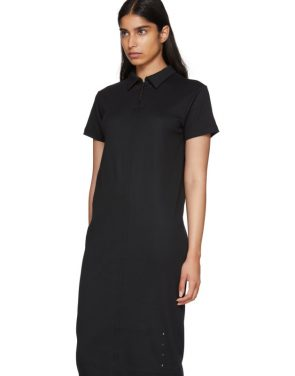 photo Black Polo Shirt Dress by Alyx - Image 4