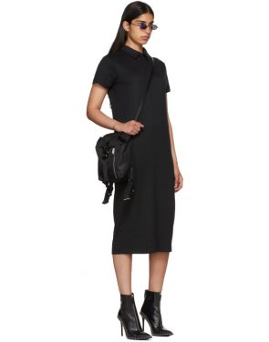 photo Black Polo Shirt Dress by Alyx - Image 5