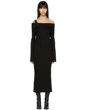 photo Black Dolly Off-the-Shoulder Dress by Ellery - Image 1