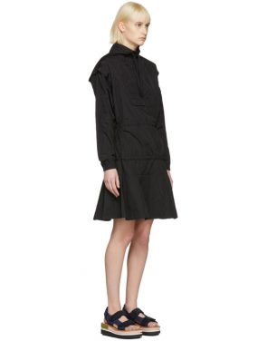 photo Black Over Its Shadow Windcheater Dress by Perks and Mini - Image 2