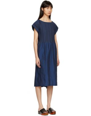 photo Blue Frame Pleats Dress by Issey Miyake - Image 2