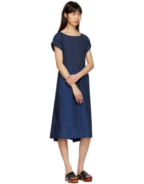 photo Blue Frame Pleats Dress by Issey Miyake - Image 5