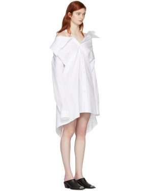 photo White Shirt Dress by Ambush - Image 2