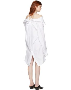 photo White Shirt Dress by Ambush - Image 3