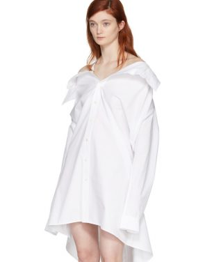 photo White Shirt Dress by Ambush - Image 5