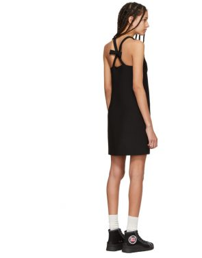 photo Black Bow Dress by Miu Miu - Image 3