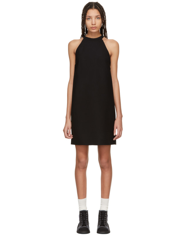 photo Black Bow Dress by Miu Miu - Image 1