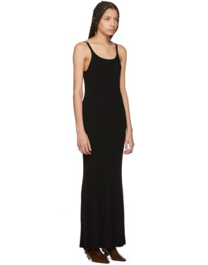 photo Black Tank Rib Dress by Wendelborn - Image 2