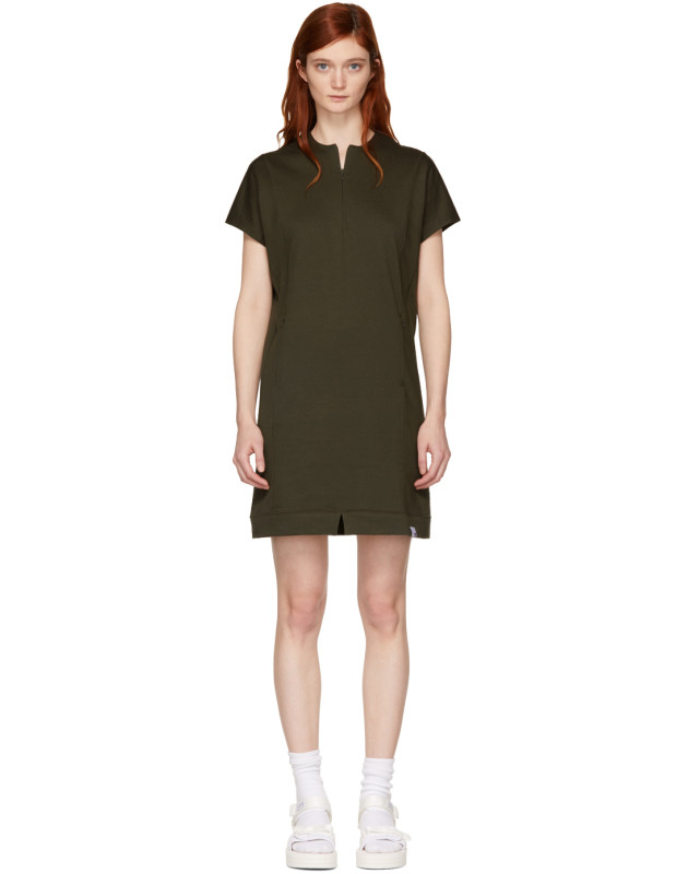 photo Green Yamayo Dress by Adidas Originals XBYO - Image 1