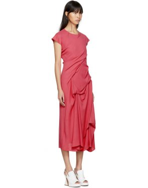 photo Pink Paloma Twist Pickup Dress by Sies Marjan - Image 2