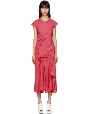 photo Pink Paloma Twist Pickup Dress by Sies Marjan - Image 1