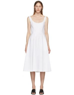photo White Cindy Dress by Khaite - Image 1