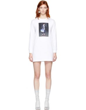 photo White Winona T-Shirt Dress by Ashley Williams - Image 1