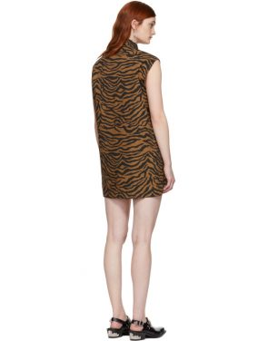 photo Brown and Black Tiger Ray Dress by Ashley Williams - Image 3