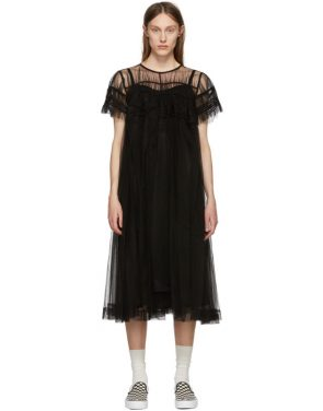 photo Black Tulle Dress by Chika Kisada - Image 1