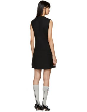 photo Black Short Gum Patch Dress by Prada - Image 3