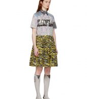 photo Multicolor Mixed Comic Print Dress by Prada - Image 2