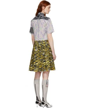 photo Multicolor Mixed Comic Print Dress by Prada - Image 3