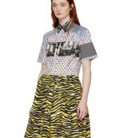 photo Multicolor Mixed Comic Print Dress by Prada - Image 5